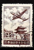 KOREA SÜD SOUTH [1954] MiNr 0173 ( O/used ) Flugzeuge - Corea Del Sud