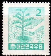 KOREA SÜD SOUTH [1957] MiNr 0263 ( **/mnh ) Pflanzen - Korea (Süd-)