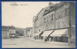 MONTMEDY-BAS    Rue De L'Ile        Animées   écrite En 1910 - Montmedy