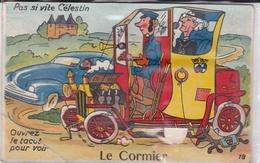 ¤¤   -   LA PLAINE-sur-MER  -  LE CORMIER   -   Carte à Système   -   Pas Si Vite Célestin  -   ¤¤ - La-Plaine-sur-Mer