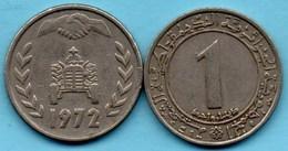 R65/  ALGERIE / ALGERIA  1 DINAR  1972  KM#104.2 - Algeria
