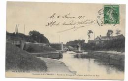 62 LA BASSEE Entrée Du Rivage De Violaines Et Le Pont De Bois - Altri Comuni