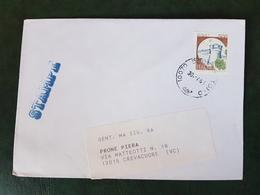 (28073) STORIA POSTALE ITALIANA 1991 - 6. 1946-.. Repubblica