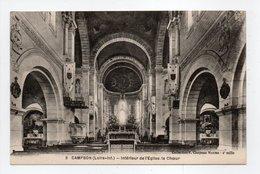 - CPA CAMPBON (44) - Intérieur De L'Eglise, Le Choeur - Collection Chapeau N° 8 - - France