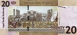 SUDAN P. 74d 20 P 2017 UNC - Soedan