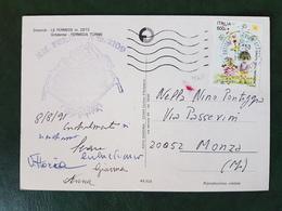 (28085) STORIA POSTALE ITALIANA 1991 - 6. 1946-.. Repubblica