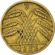 Monnaie, Allemagne, République De Weimar, 10 Reichspfennig, 1935, Hambourg - [ 3] 1918-1933 : Weimar Republic