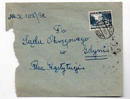 Poland Ukraine Lwow-1 1938 - 1919-1939 Republic