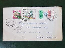 (28092) STORIA POSTALE ITALIANA 1991 - 6. 1946-.. Repubblica