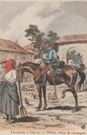 -CP-  CHASSEURS  A CHEVAL -OFFICIER , TENUE DE CAMPAGNE  (Maurice Toussaint)  Voir Scan - Autres Illustrateurs