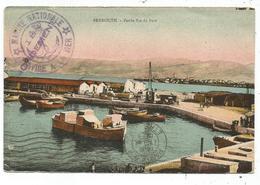 LEBANON CARTE BEYROUTH GRIFFE AVISO MONDEMENT + MARINE 1916 - Marcophilie (Lettres)