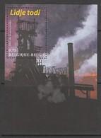 """BLOC NEUF DE BELGIQUE - """"LIEGE TOUJOURS !"""" : HAUTS-FOURNEAUX DE COCKERILL, A SERAING N° Y&T 101 - Usines & Industries"""