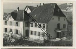 Neuveville - La Cave - Foto-AK - Verlag A. Acquadro Neuveville - Rückseite Beschrieben - BE Berne
