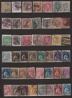 Portugal Lot De 45 Timbres Divers Oblitérés Tous Différents - 1910-... Republic