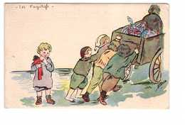 Guerre 1914 1918 Illustration Illustrateur St Brice Les Fugitifs Exode Enfant Enfants - Guerre 1914-18
