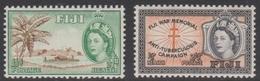 Fiji SG 296-297 1954 Health Stamps, Mint Never Hinged - Fiji (...-1970)
