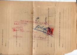 Poland Ukraine Registered Lwow-8a - 1919-1939 Republic