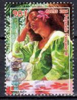 Polynésie 2006 Vahiné Avec Fleur 90 CFP N° Maury 779 - Polynésie Française