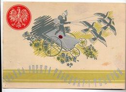 Poland Ukraine Telegram Sambor - 1919-1939 République