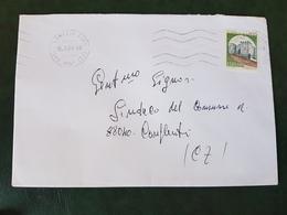 (28115) STORIA POSTALE ITALIANA 1984 - 1981-90: Storia Postale