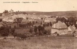 12. CPA. LAGUIOLE. Panorama, Série L'Aveyron Pittoresque. - Laguiole