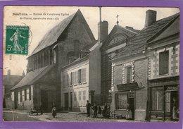 DOULLENS - Ruines De L'Ancienne Eglise St-Pierre  - 1910 - (Café)- - Doullens