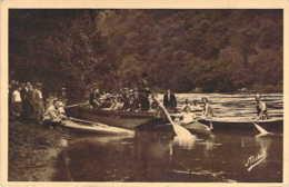 19 CORREZE Tourisme Nautique à SPONTOUR Dans Les Gorges En Gabare Et Canoës - Frankreich