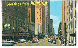 GREETINGS  FROM   HOUSTON  TEXAS   TBE  US380 - Houston