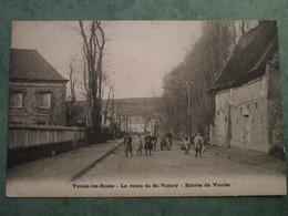 La Route De Saint-Valéry - Entrée De Veules - Veules Les Roses