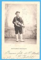 36/18 - JEAN  RAMEAU - POÈTE BERRICHON - BERRY  - DOS NON DIVISÉ EN BON ÉTAT - Costumes
