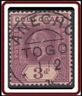 Côte De L'Or / Gold Coast - N° 72 (YT) Oblitéré De Anecho. Précurseur. - Togo (1914-1960)