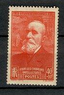 France 1939 - Neuf ** - Y&T N° 436 - Au Profit Des Chômeurs Intellectuels ,Pierre Puvis De Chavannes 40 C + 10c - Neufs