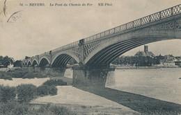 CPA - France - (58) Nièvre - Nevers - Le Pont Du Chemin De Fer - Nevers