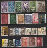 Portugal Lot De 26 Timbres Divers Oblitérés Tous Différents - 1910-... Republic