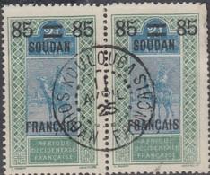 Soudan Français 1920-1944 - Koulouba Sur N° 45 (YT) N° 40 (AM). Oblitération De 1925. - Oblitérés