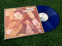 Rare Vinyle Bleu 33 Tours Django Reinhardt Avec La Quintette Du Hot Club De France Le Disque D' Or (1979) - Jazz