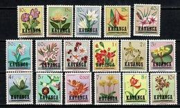 Katanga 1960 - 23/39** (2 Scans) MNH - Katanga