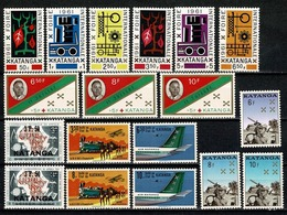 Katanga 1961/1962 - 50/81** 2 Full Years (2 Scans) MNH - Katanga