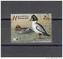 Belarus Weissrussland 2016 MNH ** Mi. Nr. 1108 Bird Of The Year Common Goldeneye - Belarus
