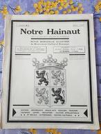 Notre Hainaut MAI 1937 Soignies - Belgique
