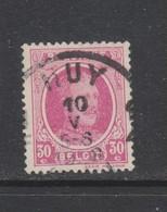 COB 200 Oblitération Centrale HUY - 1922-1927 Houyoux