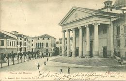 Treviso (Veneto) Piazza Del Duomo, Facciata E Sagrato Del Duomo - Treviso