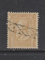 COB 50 Oblitération Roulette - 1884-1891 Léopold II