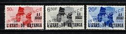 Katanga 1960 - 41**, 47*, 49* (2 Scans) - Katanga