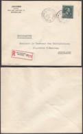 """Belgique - Lettre Recommandé COB 724T  - Agence """" Bruxelles N°33 """" (DD) DC2388 - Marcophilie"""