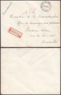"""Belgique - Lettre Recommandé  - Agence """" Bruxelles N°38 """" (DD) DC2389 - Marcophilie"""