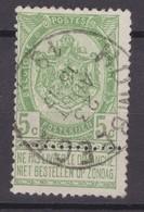 N° 56 : HOMBEECK - 1893-1907 Armoiries