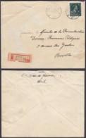 """Belgique - Lettre Recommandé COB 724T - Agence """" Uccle N°22 """" (DD) DC2390 - Marcophilie"""