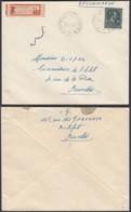 """Belgique - Lettre Recommandé COB 724T - Agence """" Boitsfort N°24 """" (DD) DC2393 - Marcophilie"""