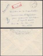 """Belgique - Lettre Recommandé - Agence """" Ixelles N°11 """" (DD) DC2394 - Marcophilie"""
